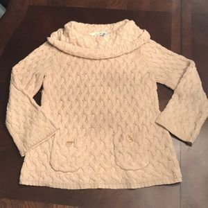 Anthropologie Sparrow Cable Sweater